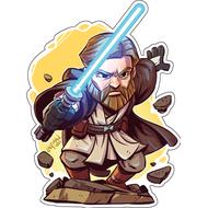 Стикер Star Wars Оби Ван Киноби, фото 1
