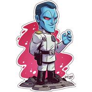 Стикер Star Wars Гранд-адмирал Траун, фото 1