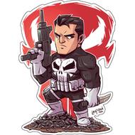 Стикер Marvel Punisher, фото 1