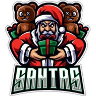 Наклейка Santas, фото 1