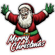 Наклейка С рождеством, фото 1