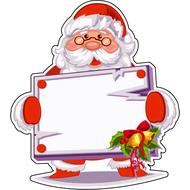 Наклейка Санта и список желаний, фото 1