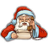 Наклейка Санта, фото 1
