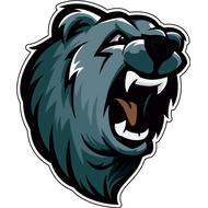 Наклейка Медвежий оскал, фото 1