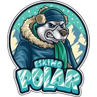 Наклейка Полярный Медведь, фото 1