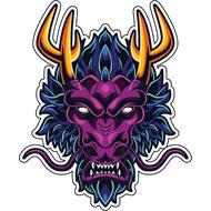 Наклейка Дракон-070, фото 1