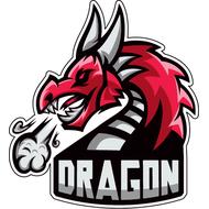 Наклейка Дракон-073, фото 1