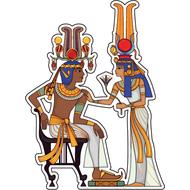 Наклейка Семья Фараона, фото 1
