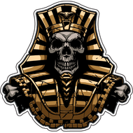Наклейка Мертвый фараон, фото 1