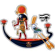 Наклейка Бог Амон Ра, фото 1