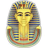 Наклейка Золотая маска Тутанхамона, фото 1
