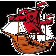 Наклейка Пиратский корабль, фото 1