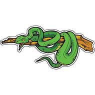 Наклейка Змея на ветке-057, фото 1