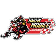 Наклейка Snow Mobile, фото 1