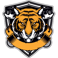 Наклейка Тигр-025, фото 1