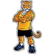 Наклейка Тигр-031, фото 1
