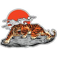 Наклейка Японский Тигр-039, фото 1