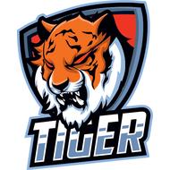 Наклейка Тигр-043, фото 1