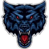 Наклейка Волк-071, фото 1