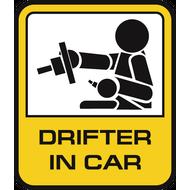 Наклейка Drifter in car, фото 1