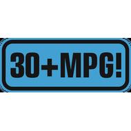 Наклейка 30+MPG!, фото 1