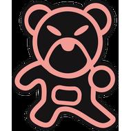 Наклейка Japan bear, фото 1