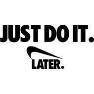 Наклейка Антибренд Nike, фото 1