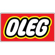Наклейка Антибренд LEGO, фото 1