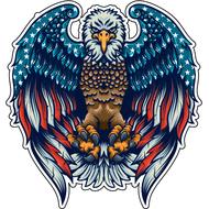 Наклейка American Eagle, фото 1
