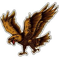 Наклейка Орел, фото 1
