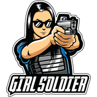 Наклейка Girl Soldier, фото 1