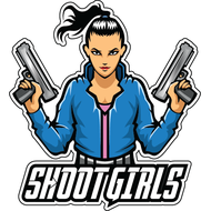Наклейка Shoot Girls, фото 1
