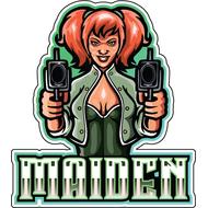 Наклейка Maiden, фото 1