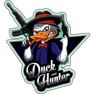 Наклейка Duck Hunter, фото 1