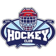 Наклейка Hockey club, фото 1