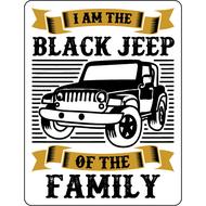 Наклейка Black Jeep, фото 1