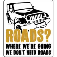 Наклейка Roads?, фото 1