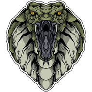 Наклейка Страшная кобра-081, фото 1
