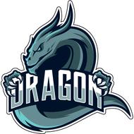 Наклейка Дракон-091, фото 1