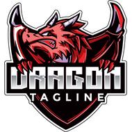 Наклейка Дракон-092, фото 1