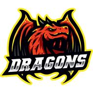 Наклейка Дракон-094, фото 1