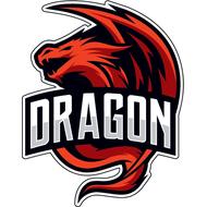Наклейка Дракон-096, фото 1