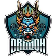 Наклейка Дракон-098, фото 1