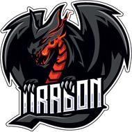 Наклейка Дракон-099, фото 1