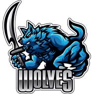 Наклейка Wolves-089, фото 1