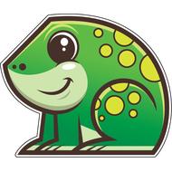 Наклейка Лягушонок, фото 1