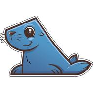 Наклейка Морской котик, фото 1