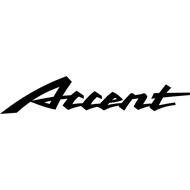 Наклейка Accent, фото 1