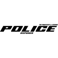 Наклейка POLICE responder, фото 1