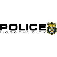 Наклейка POLICE moscow city на правй борт, фото 1